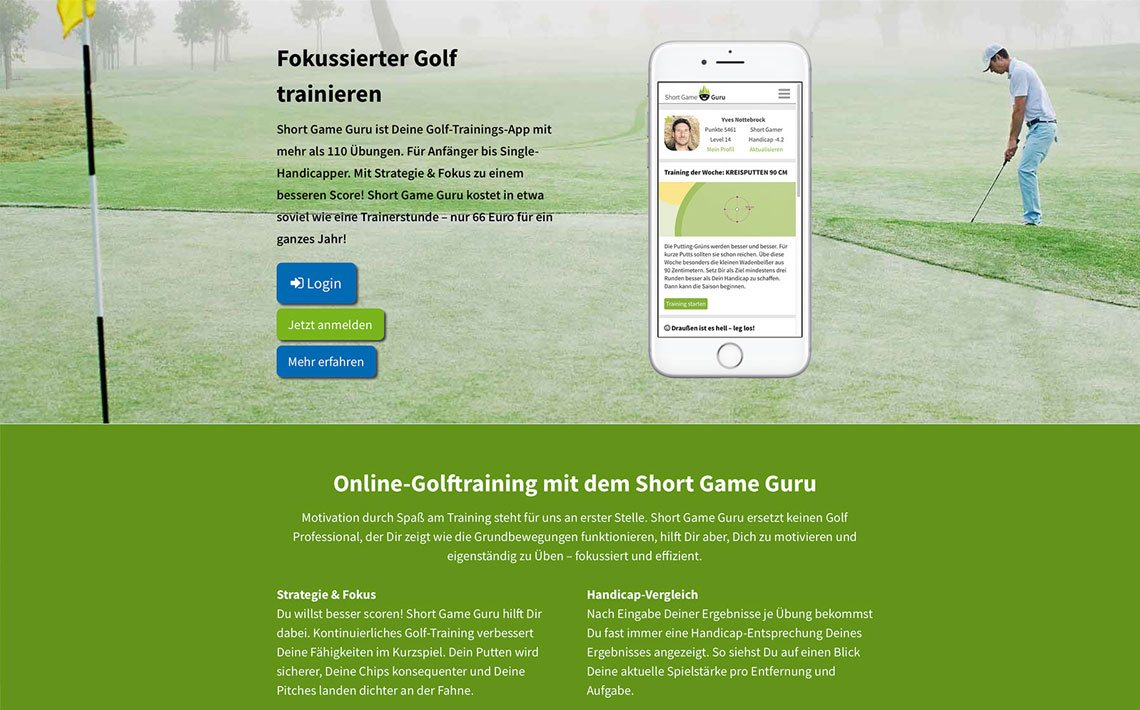 Short Game Guru, Corporate Branding